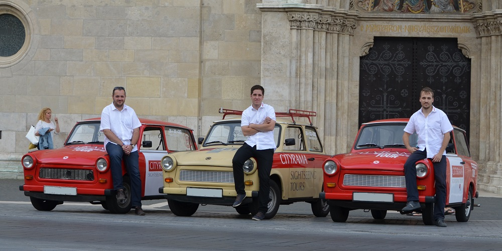 CITYRAMA sightseeing tours special trabant tours budapest hungary