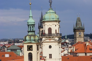 round trip in central eastern europe prague towers